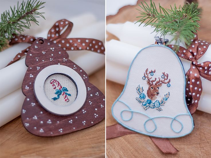Заметки на полях: Французские миниатюрки на ёлку