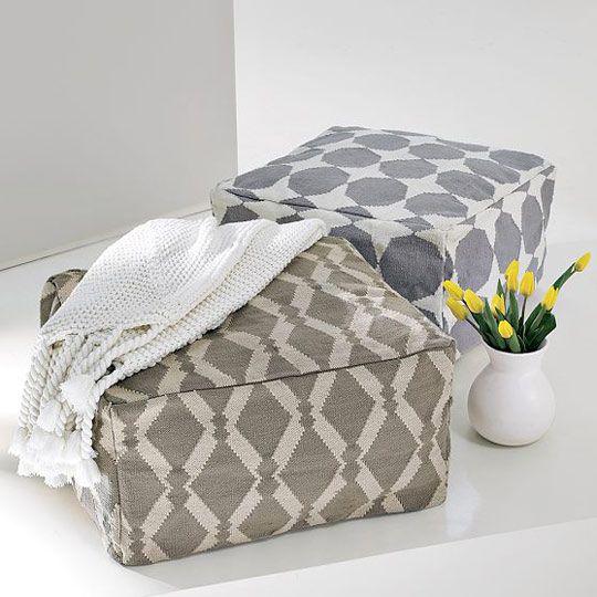 Love this DIY idea for a beanbag!