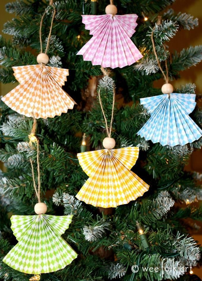Angel Christmas Ornaments Crafts 60 Christmas Angel Crafts Christmas Angel Decorations Paper Christmas Ornaments