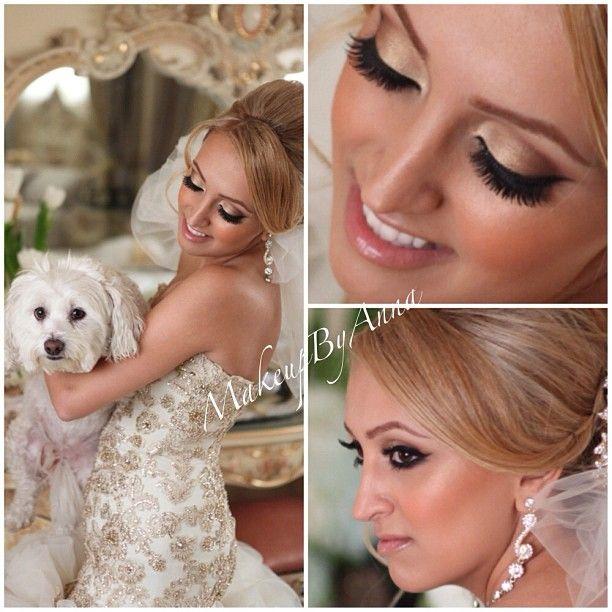 My sweet bride  Photo by @jayjaystudios hair @arsineh_hairstylist  #bride #makeup #wedding #sweetheart - @MakeUp By Anna- #webstagram