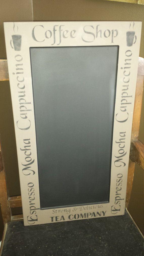 KITCHEN CHALKBOARD/CAFE Chalkboard/Restaurant by kimburcreations