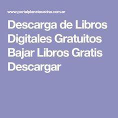Descarga de Libros Digitales Gratuitos Bajar Libros Gratis Descargar