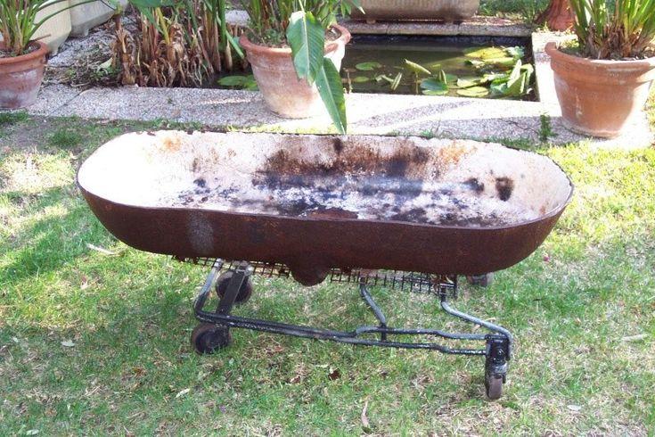 Un barbecue géant, mobile