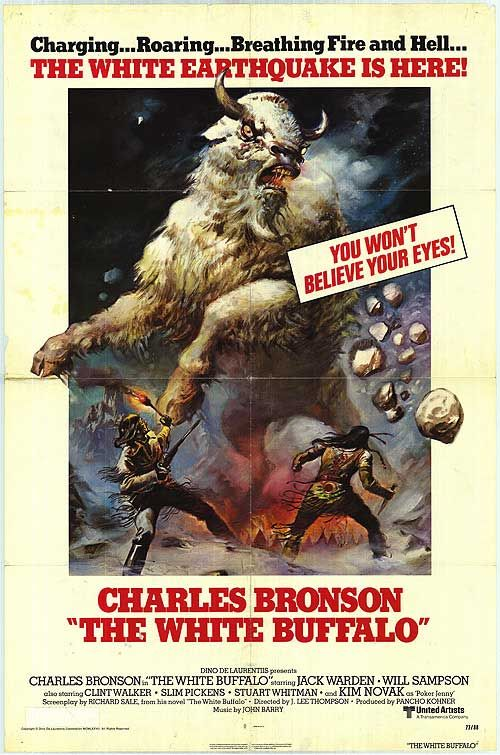 Excellent Charles Bronson Film The White Buffalo
