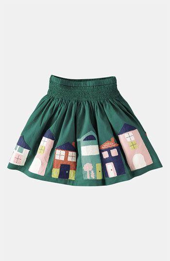 Mini Boden Appliqué Skirt (Little Girls & Big Girls) | Nordstrom