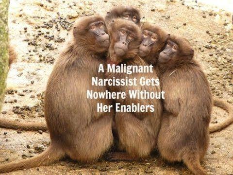 Del 1 - Flygende aper - narsissisters medhjelpere og medskyldige