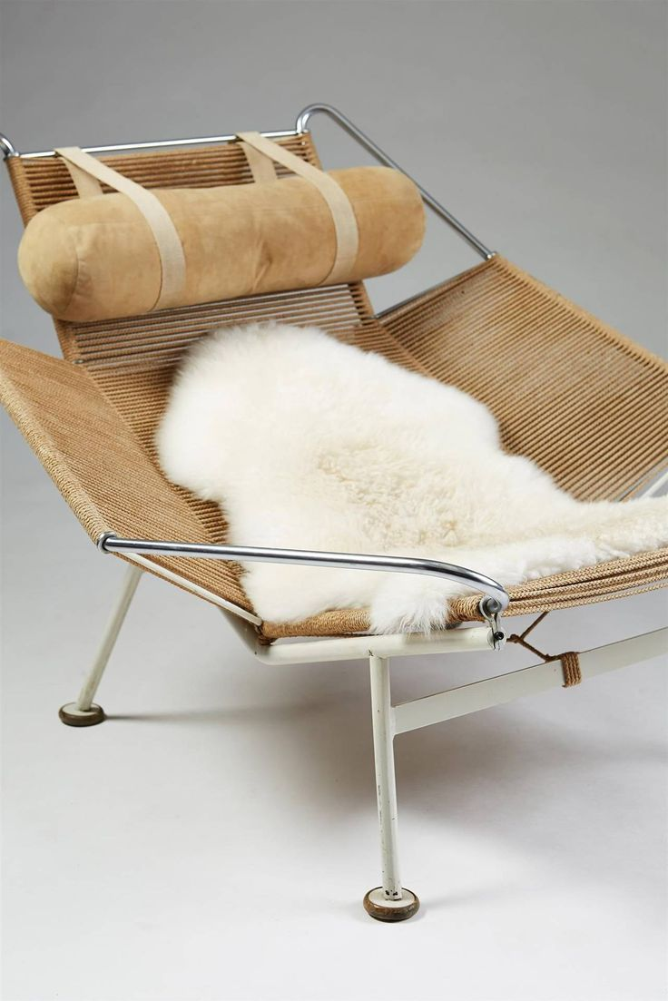 Flag Halyard Chair Designed by Hans Wegner for Getama, Denmark, 1950