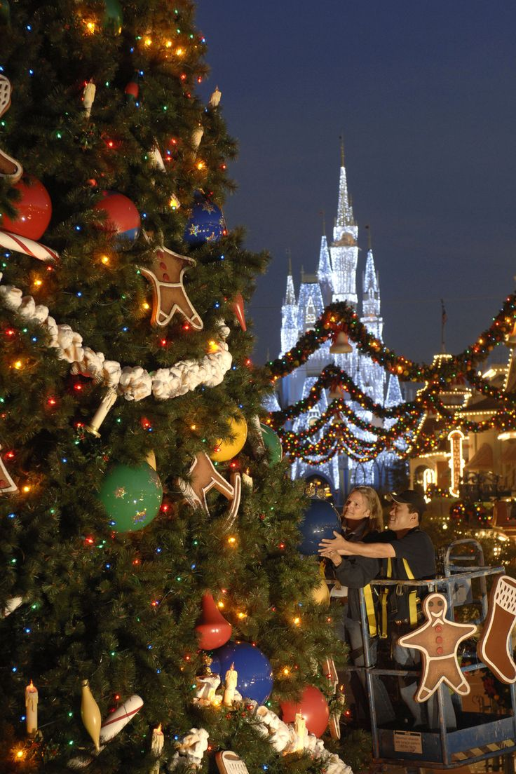 Disney world christmas decorations - Top 10 Holiday Experiences At Disney World Http Www Chipandco