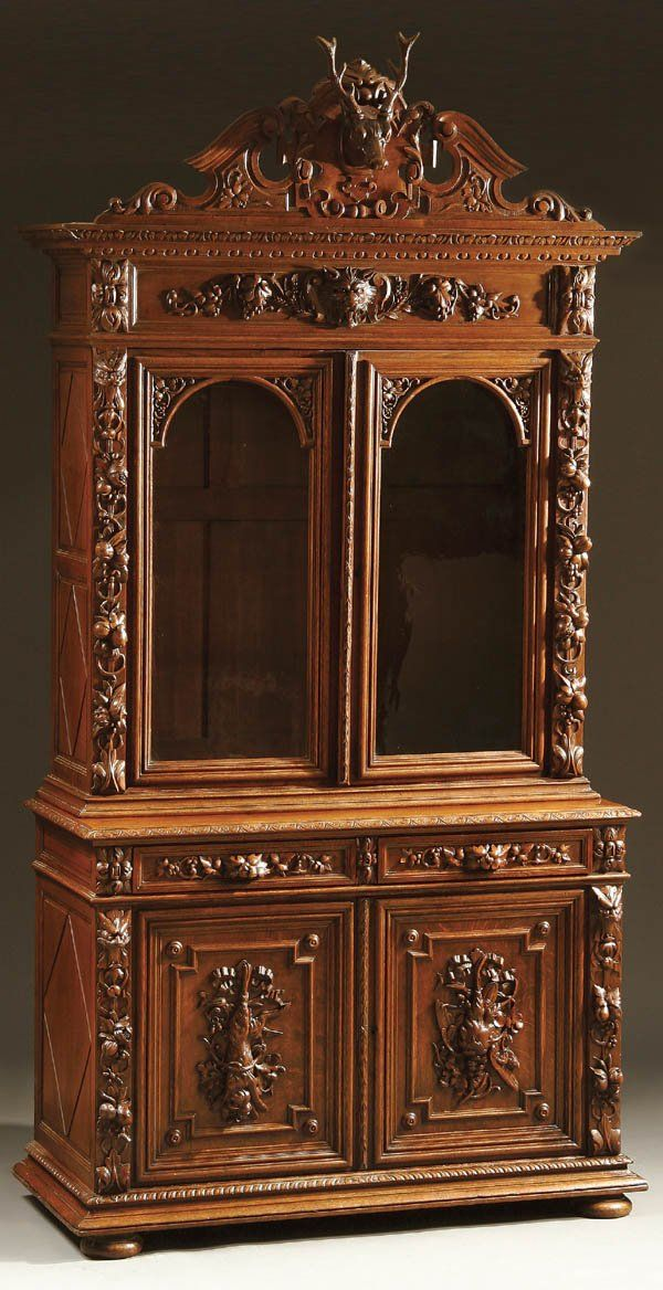Black Forest Bookcase (I'd like to own this! I know, big surprise!)