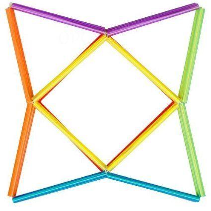 Amazon.com : Polygonzo-Geo Twister Assorted styles : Toy : Toys & Games