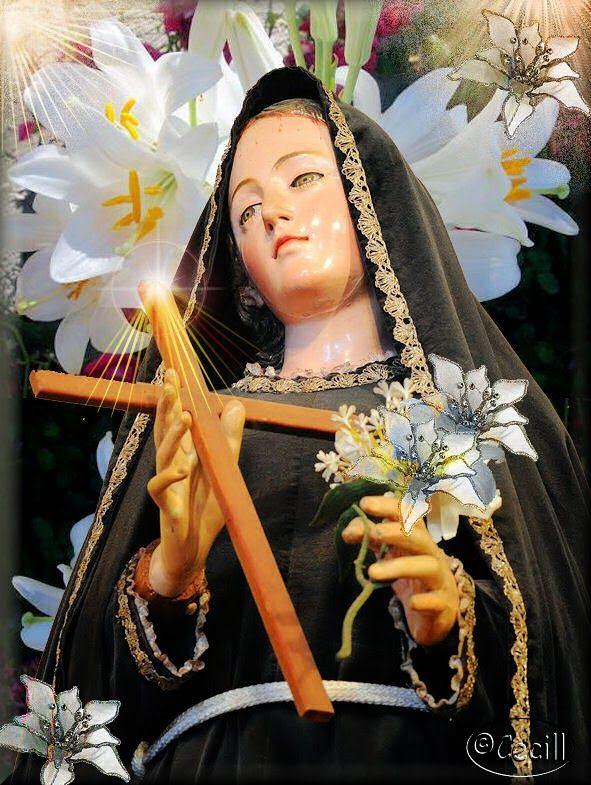 Vidas Santas: Santa Mariana de Jesús Paredes y Flores, varias estampas