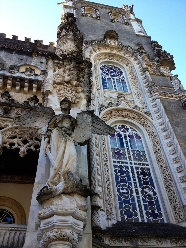 Detalle del Palacio en Mata do Bussaco