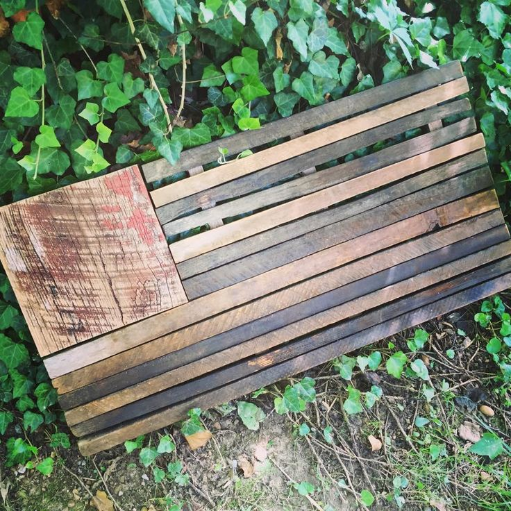 Barnwood Tobacco Stick Flag Tobacco Sticks Barn Wood