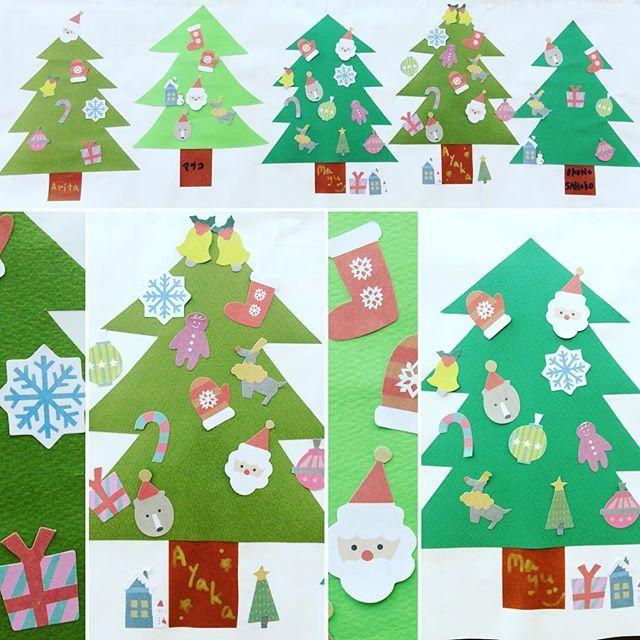 . 12月期の枚数表はクリスマスツリーでした🎄たくさんの飾りでみんなそれぞれ可愛いツリーが完成❗️ #東亜和裁クリスマス2017#東亜和裁クリスマスイルミネーション2017#クリスマス#クリスマスツリー#サンタ#東亜和裁#着物#和裁#toawasai#kimono