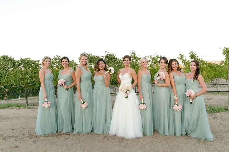 Jenny Yoo Annabelle Dress in Sea Glass | My wedding ...