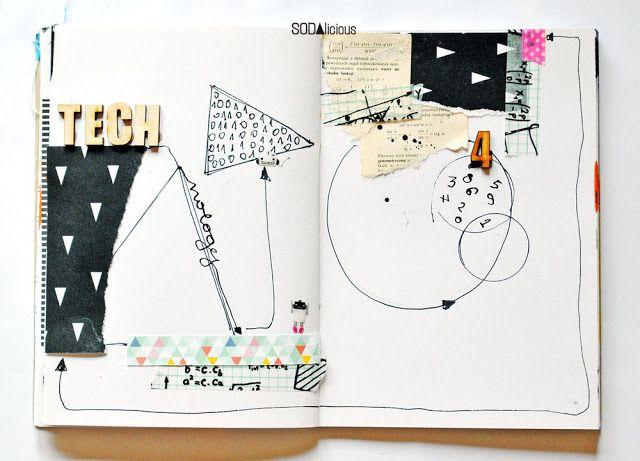 made by Olennka ► SODAlicious art journal challenge No29