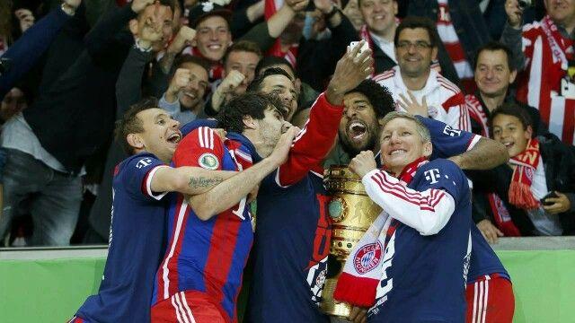 FC Bayern DFB Pokal Finale 2014