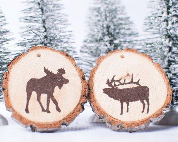 31 best Moose projects(DIY) images on Pinterest Moose decor, Log - moose christmas decorations