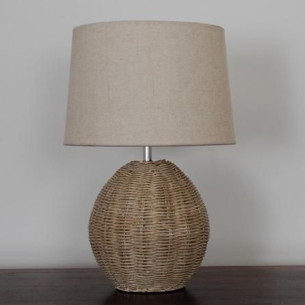 39 best table lamps images on pinterest buffet lamps table lamps ali rattan table lamp dunelm aloadofball Images