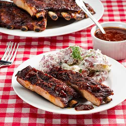 Oven Slow-Cooked BBQ Spare Ribs=  Good info on cooking tender ribs in the oven.  Cooking them next weekend!