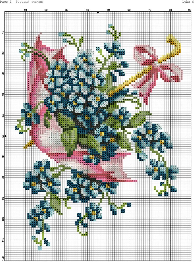 Cross-stitch patterns - Borduur patronen (1)