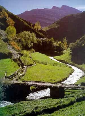 Serra O Courel, río Selmo