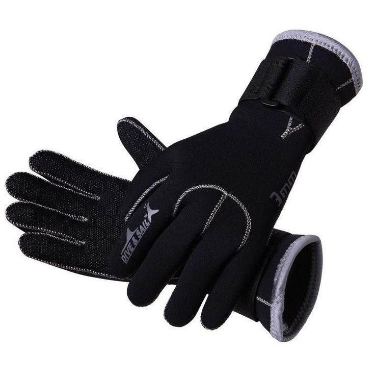 3mm Neoprene Scuba Dive Gloves Snorkeling Diving Equipment Anti Scratch Skid Keep Warm Wetsuit Material Winter Swim Spearfishing