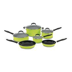 Lime Green Cuisinart pots and pans set!