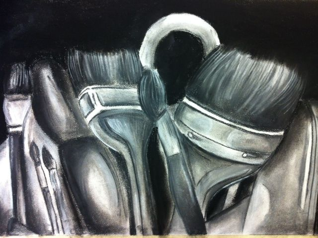 Charcoal Value Study