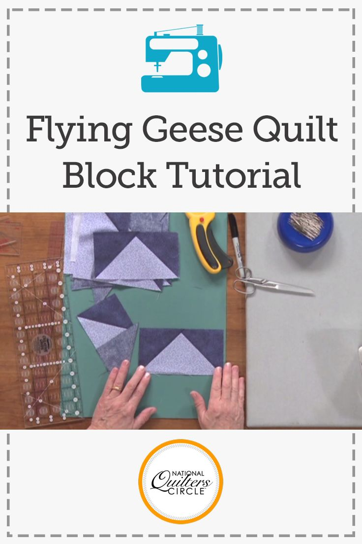 Dana Jones shows you several methods to incorporate flying geese into your quilt along with the reason for adding them. Learn how to make your own flying geese individually or use a system to make multiple at once.