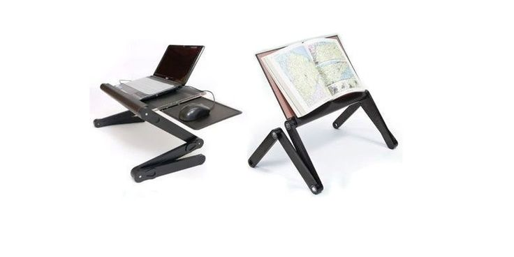 Πτυσσόμενο Τραπεζάκι Laptop Cooler με Βάση Mouse & 2 Ανεμιστήρες - Smart Foldable T8