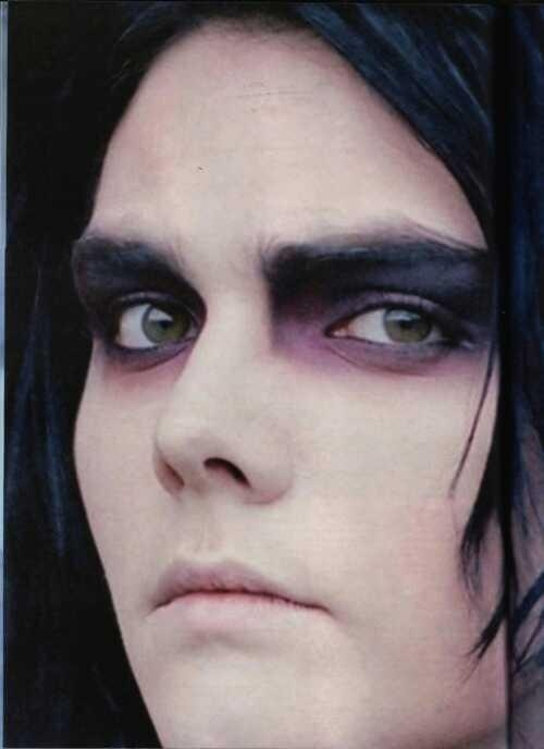 My Chemical Romance  So.....I'm putting this here because I want to do the same makeup style.
