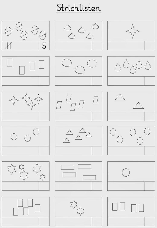 Ausgezeichnet Kindergarten Mathe Arbeitsblätter Zum Ausdrucken ...