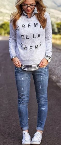 cool jean outfits for women 2016 trends - Styles 7