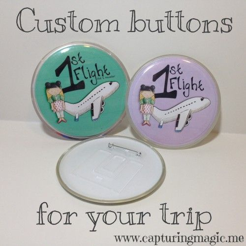 Custom buttons for your trip