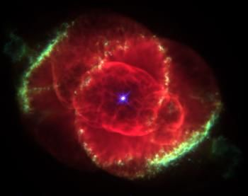 Planetary Nebula NGC 6543: Gaseous Cocoon Around a Dying Star: Cats, Cat Eyes, Hubble Spaces Telescope, Planetari Nebulas, The Stars, Finals Frontier, Eye Nebulas, Pictures, Image