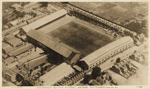 Aerial View Of White Hart Lane, 1925 | Tottenham Hotspur Football Club