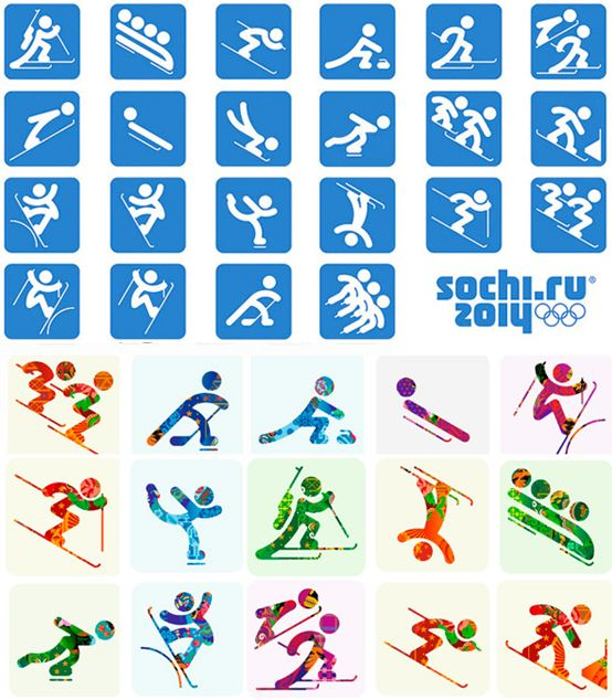 Sochi 2014 Winter Olympics' Logo and Pictograms | Labbrand Brand Innovations