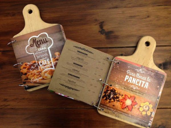 Ejemplos de diseño de menús para restaurantes