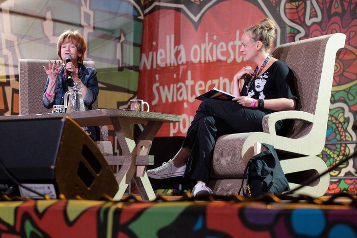 Maria Czubaszek - rozmowa w ASP #Woodstock2014