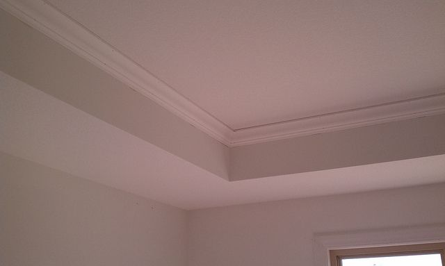 Crown Molding In The Master Bedroom Tray Ceiling By Mark H