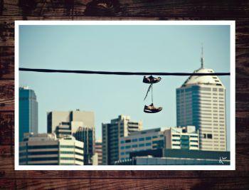 Melbourne Skyline - Photo Print - limited run. Artist: Moody, Logan Artwork title: Melbourne Skyline Price: $50