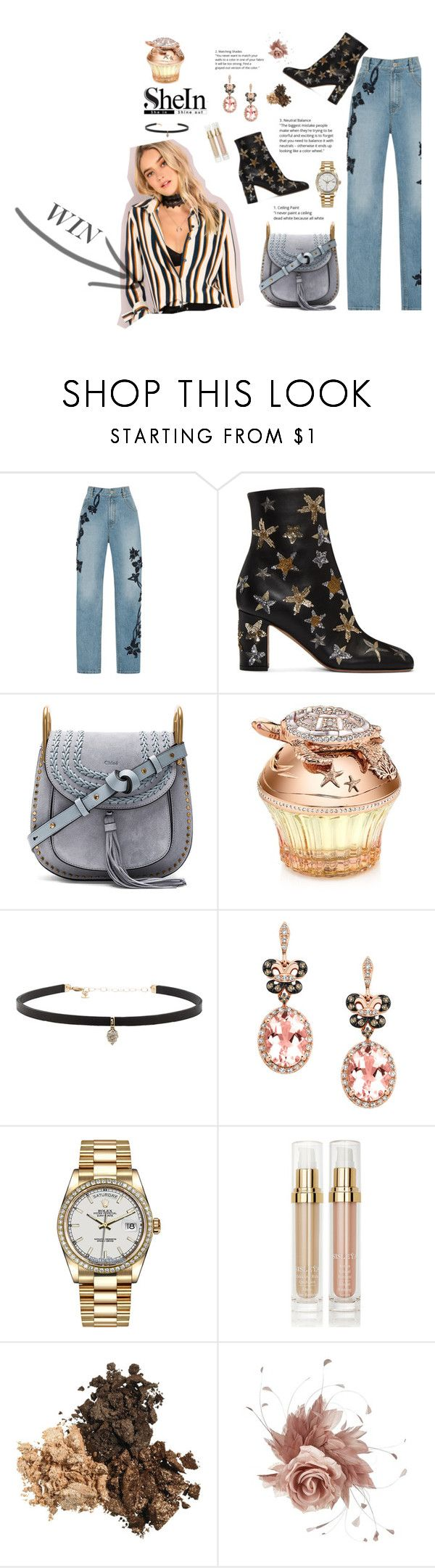 """Winter Princess"" by velvet-rat ❤ liked on Polyvore featuring Jonathan Simkhai, Valentino, Chloé, House of Sillage, Carbon & Hyde, Effy Jewelry, Rolex, Sisley, NERIDA FRAIMAN and Boots"