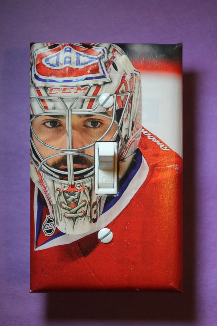 Carey Price Montreal Canadiens #31 NHL Hockey Light Switch Cover Plate mancave boys child room home decor bedroom 31 Habs goalie by ComicRecycled on Etsy
