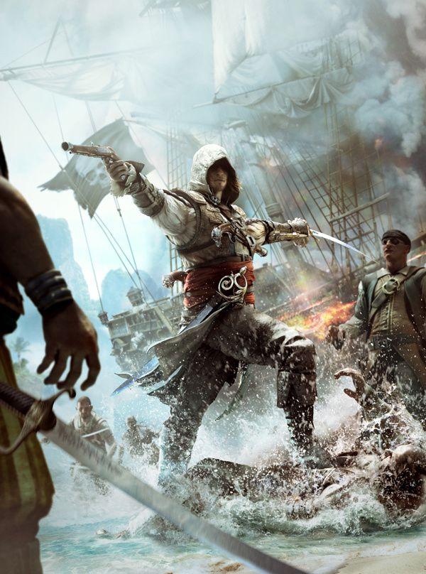 Assassin's Creed 4 Black Flag on Digital Art Served