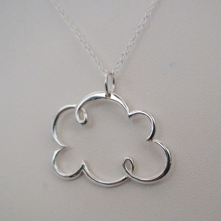FashionJunkie4Life - Cloud Necklace - Sterling Silver Cloud Weather Charm Necklace, $26.00 (http://www.fashionjunkie4life.com/cloud-necklace-sterling-silver-cloud-weather-charm-necklace/) For 10% off use coupon code: PIN10
