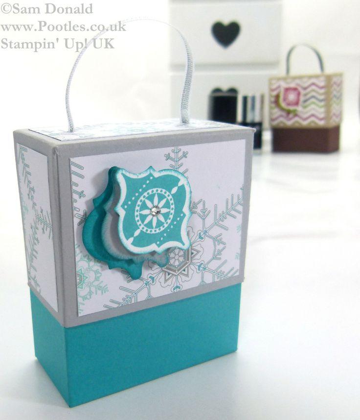 POOTLES Stampin Up ADVENT COUNTDOWN 10 Nail Polish Gift Box 5