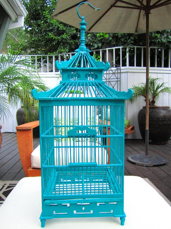 133 best birdcage images on pinterest bird houses for Cage d oiseau decorative