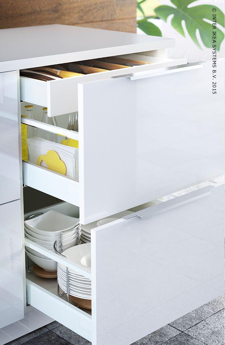 Benut elke vierkante centimeter van je keuken keuken pinterest cuisine catalog and kitchens - Ikea cuisine ...