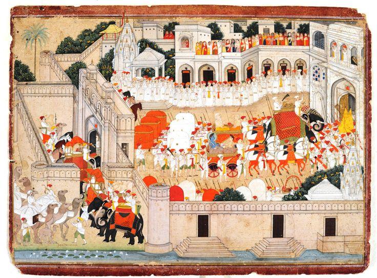 Ramayana Indian Miniature Art from the National Museum